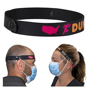 "1"" Wide ""Mask Master"" Ear Saver Headband"
